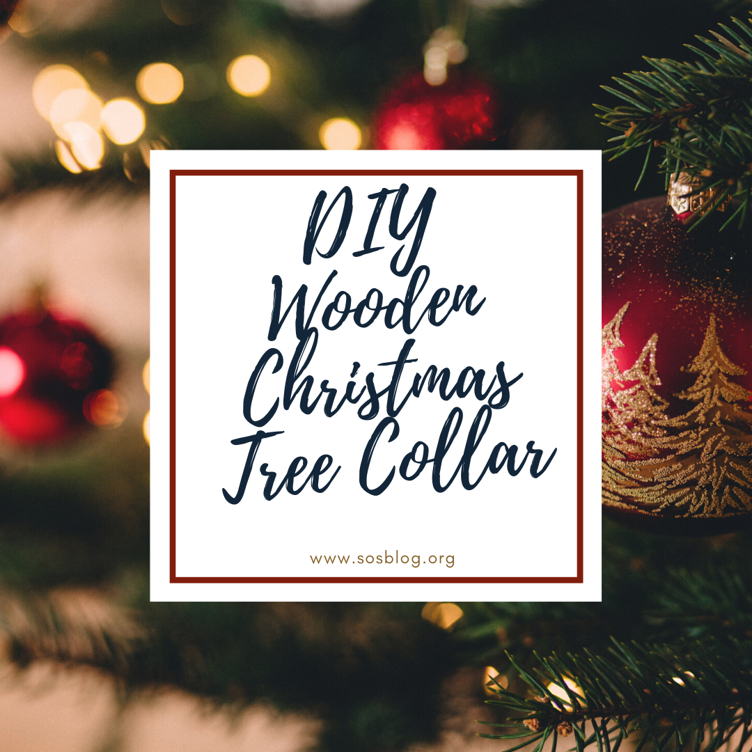 Diy Wooden Christmas Tree Collar